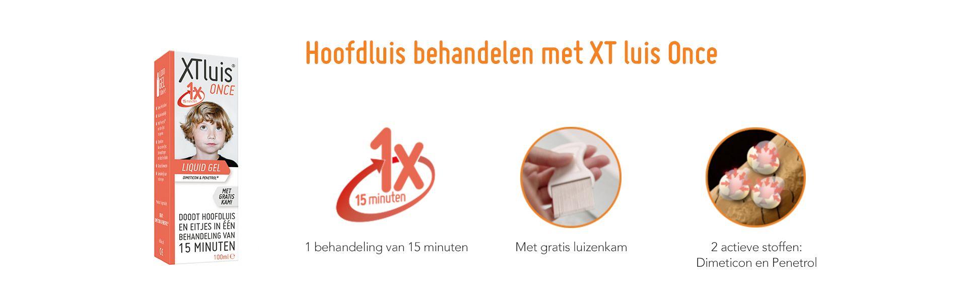 XT luis - Once - Actieve stoffen Dimeticon Penetrol